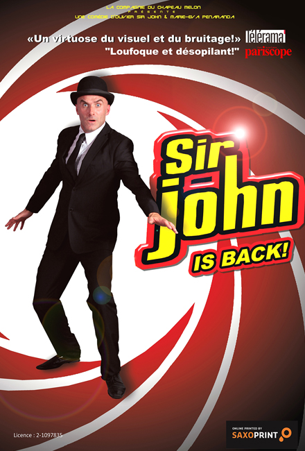 Olivier Sir John dans Sir John is back !